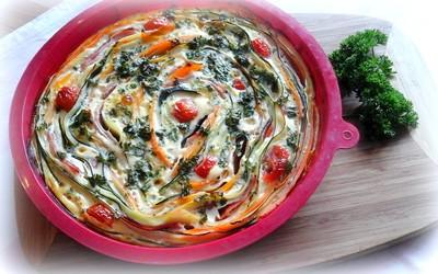 Bunter Gemüseauflauf Rezept