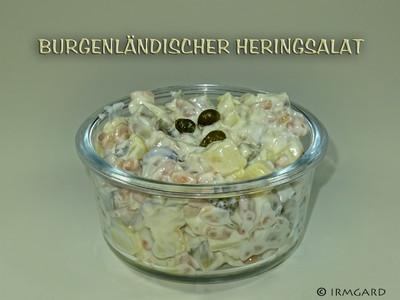 Burgenländischer Heringsalat Rezept