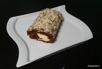 Vanille Kirschroulade Rezept