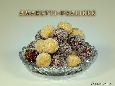 Amaretti-Pralinen Rezept