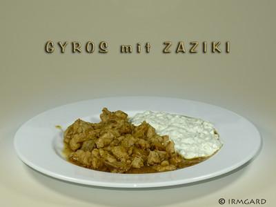 Gyros mit Zaziki Rezept