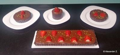 Erdbeer-Schokoladen Tarte Rezept