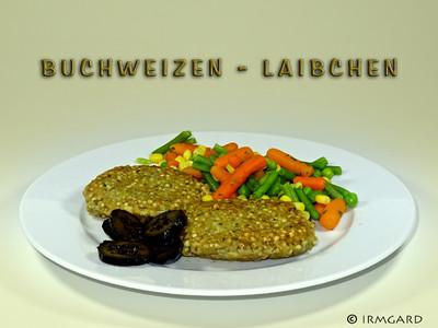 Buchweizenlaibchen Rezept
