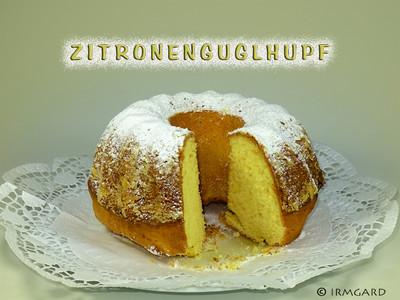 Zitronenguglhupf Rezept