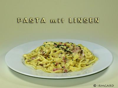 Pasta mit Linsen Rezept