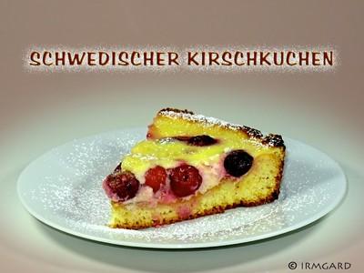 Schwedischer Kirschkuchen Rezept