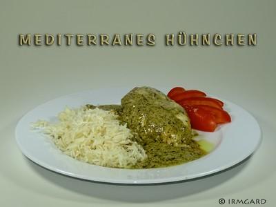 Mediterranes Hühnchen Rezept