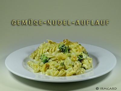 Gemüse-Nudel-Auflauf Rezept