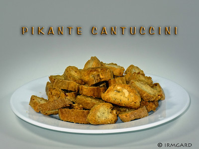 Pikante Cantuccini (Kenwood Cooking Chef) Rezept