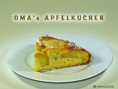 Oma's Apfelkuchen Rezept