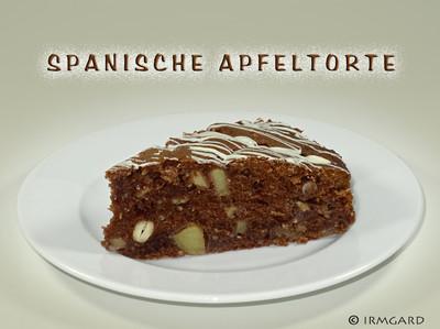 Spanische Apfeltorte Rezept