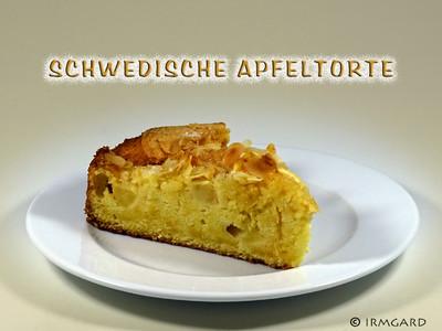 Schwedische Apfeltorte Rezept