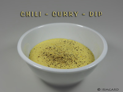 Chili-Curry-Dip Rezept