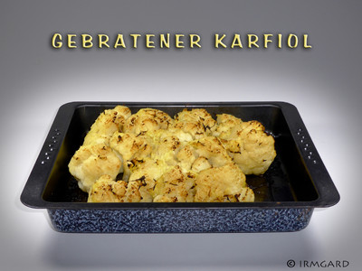Gebratener Karfiol Rezept