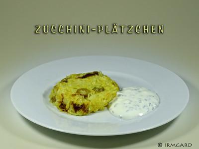 Zucchiniplätzchen Rezept