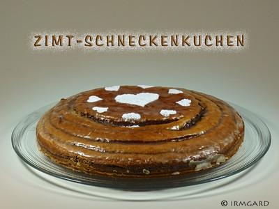 Zimtschneckenkuchen Rezept