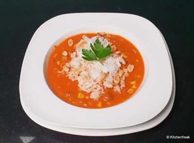 Mexikanische Reissuppe Rezept