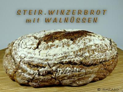 Brot mit Walnüssen Rezept