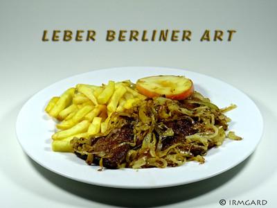 Leber Berliner Art Rezept