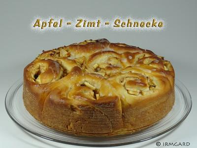 Apfel-Zimt-Schnecke Rezept