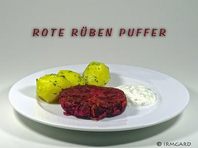 Rote Rüben Puffer Rezept
