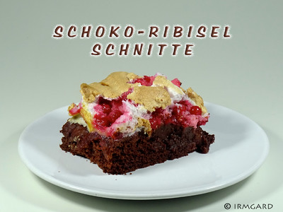 Schoko-Ribisel-Schnitte Rezept