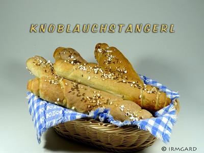 Knoblauchstangerl Rezept