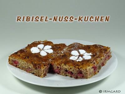 Ribisel-Nuss-Kuchen Rezept