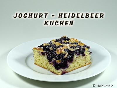 Joghurt-Heidelbeer-Kuchen Rezept