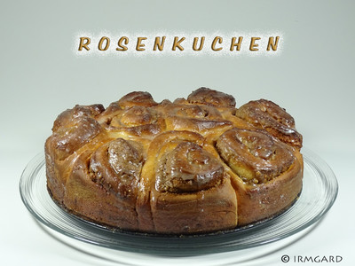 Rosenkuchen Rezept