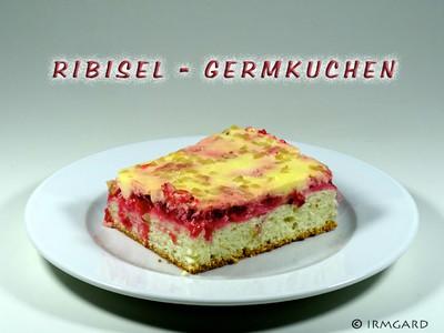 Ribisel-Germkuchen Rezept