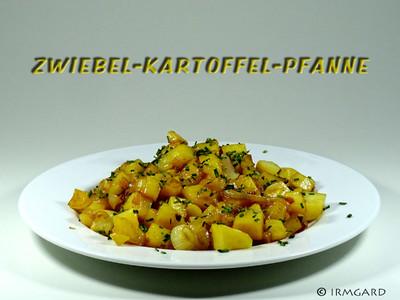 Zwiebel-Kartoffelpfanne Rezept