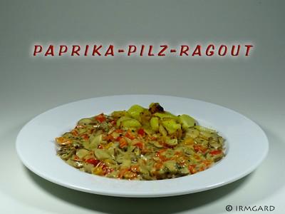 Paprika-Pilz-Ragout Rezept