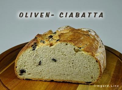 Oliven-Ciabatta Rezept