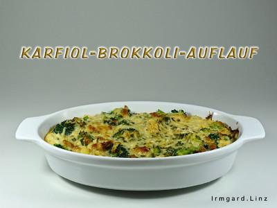 Karfiol-Brokkoli-Auflauf Rezept