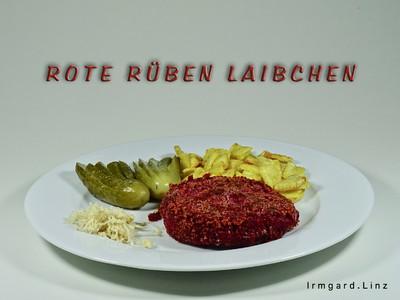 Rote Rüben Laibchen Rezept