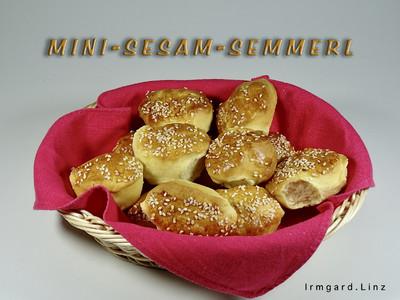 Mini-Sesam-Semmerl Rezept