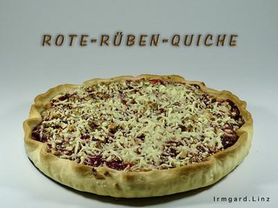 Rote-Rüben-Quiche Rezept