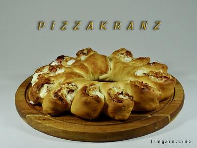 Pizzakranz Rezept