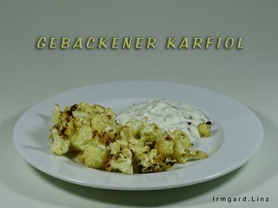 Gebackener Karfiol Rezept