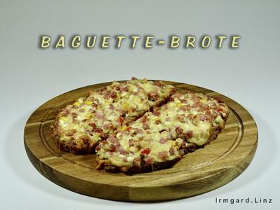 Baguette-Brote Rezept