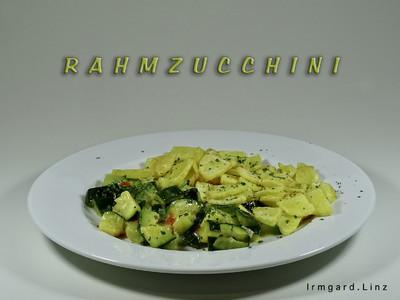 Rahmzucchini Rezept