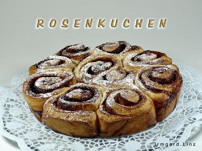 Klassischer Rosenkuchen Rezept