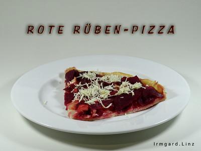 Rote Rüben Pizza Rezept