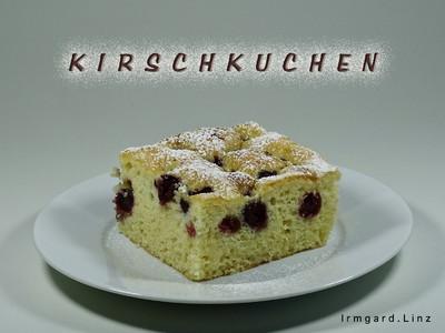 Kirschkuchen / Ölteig Rezept