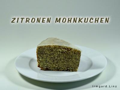 Zitronen-Mohnkuchen Rezept