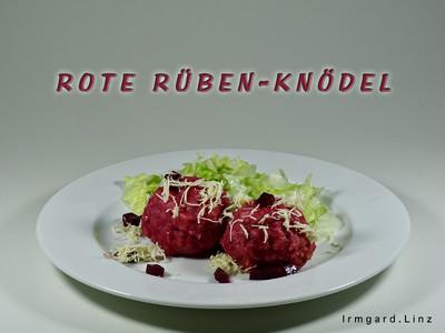 Rote Rüben-Knödel Rezept