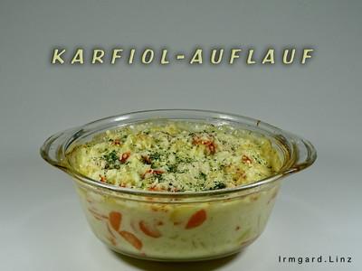 Karfiol-Auflauf Rezept