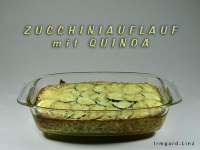 Zucchiniauflauf mit Quinoa Rezept