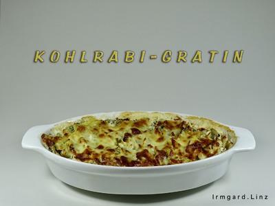 Kohlrabi-Gratin Rezept